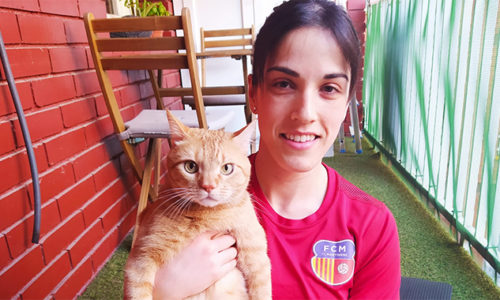 Elena Sánchez, Confinament Amb Mascota