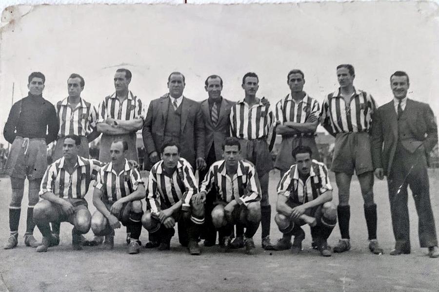 L'equip d'aquella final de Copa Federació   Arxiu FCM