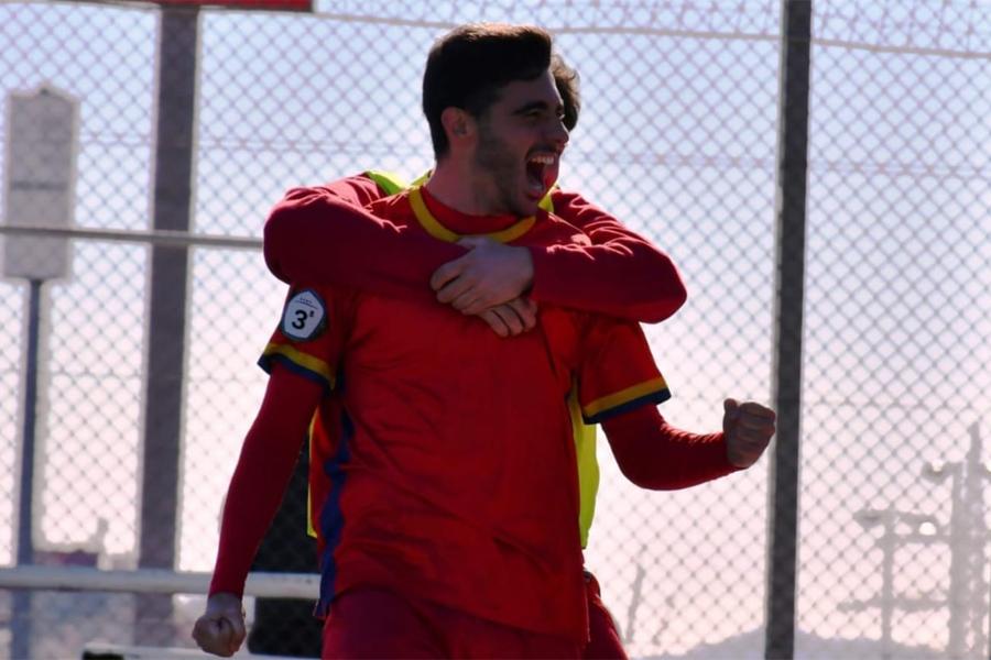 Kilia celebra un gol amb el Martinenc, el curs 2018/2019 | Dani Falcon - FCM